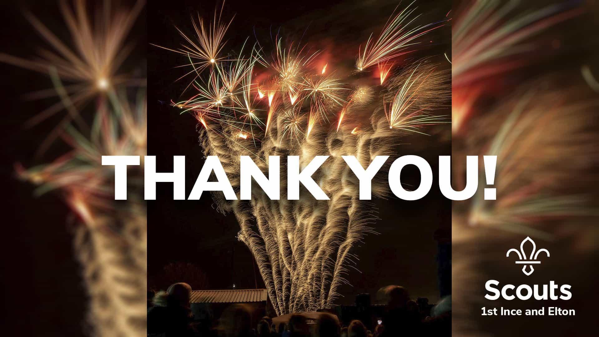 Elton Bonfire and Fireworks 2019 – THANK YOU!
