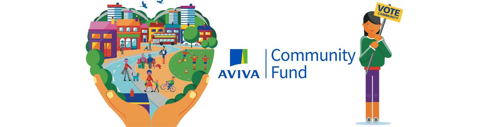 We've entered the Aviva Community Fund vote!